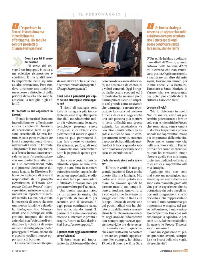 Il Friuli - Business ottobre - 2