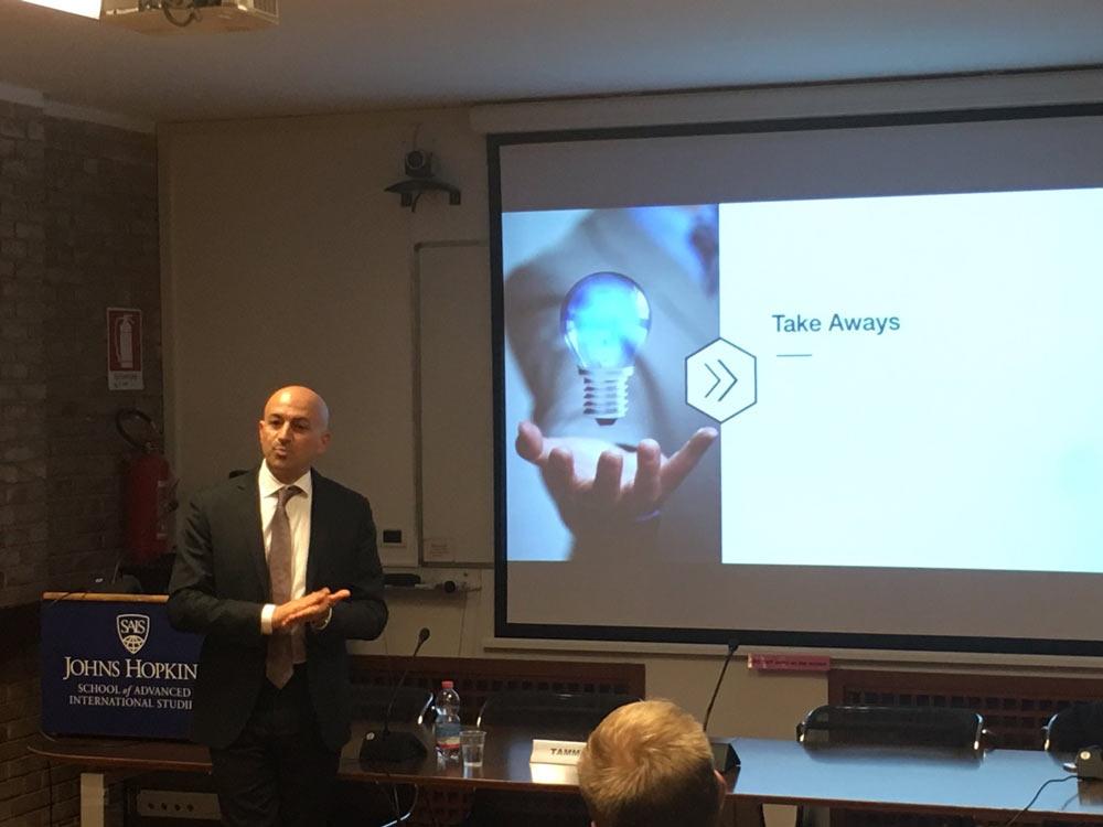 John Hopkins SIAS-Bologna Enterprise Risk Management